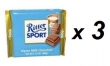 3 Bars of Ritter Sport Chocolate - Alpine Milk
