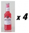 4 Bottles of Bacardi Breezer - Strawberry