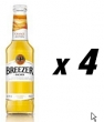 4 Bottles of Bacardi Breezer - Orange