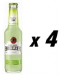 4 Bottles of Bacardi Breezer - Lime