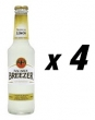 4 Bottles of Bacardi Breezer - Lemon