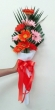 9 Fresh Mixed Colour Gerberas - Tall Bouquet