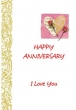 Anniversary Card (Printed) 9