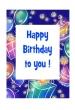 Birthday Card (Printed) 5