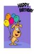 Birthday Card (Printed) 8