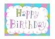 Birthday Card (Printed) 9