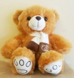 Brown Bear F Soft Toy (M)