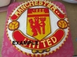 Custom-Made Football Club Cake
