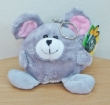 Cute Mouse Soft Toy Keyring (XL)