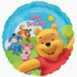 Floating Foil Balloon - Happy Birthday Pooh Bear (L)