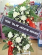 Fresh White Wreath 01