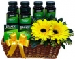 Health Gift Basket of Brand's Essence of Chicken - 12 Bottles