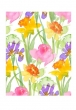 Greeting Card (Printed) - Flowers (non-Roses) 2