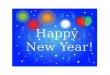 Happy New Year Card (Printed) C