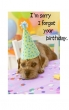 Late Birthday Card (Printed) 2