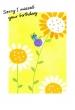 Late Birthday Card (Printed) 3