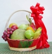Luxury Basket of Fresh Fruit (L)