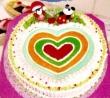 Many Hearts Cake