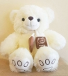 White Bear C Soft Toy (M)