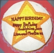You Are A Star Cake